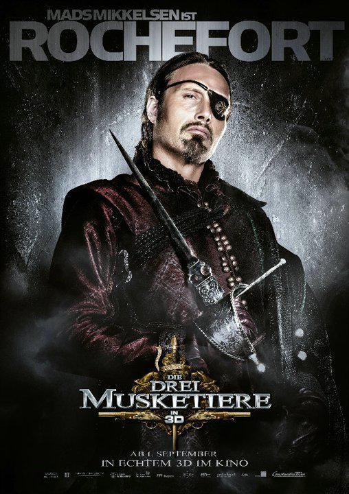 Rochefort - Tre Moschettieri - Three Musketeers - Los Tres Mosqueteros - Trois Mousquetaires - Drei Musketiere - 三銃士 - Три мушкетера - Mads Mikkelsen