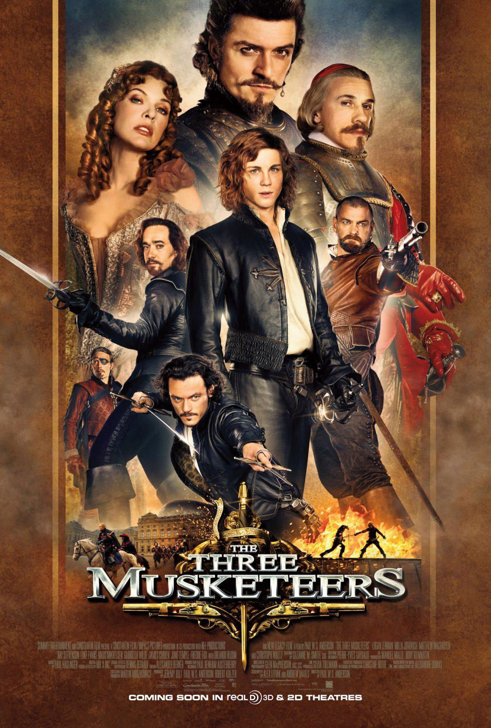 Tre Moschettieri - Three Musketeers - Los Tres Mosqueteros - Trois Mousquetaires - Drei Musketiere - 三銃士 - Три мушкетера - poster