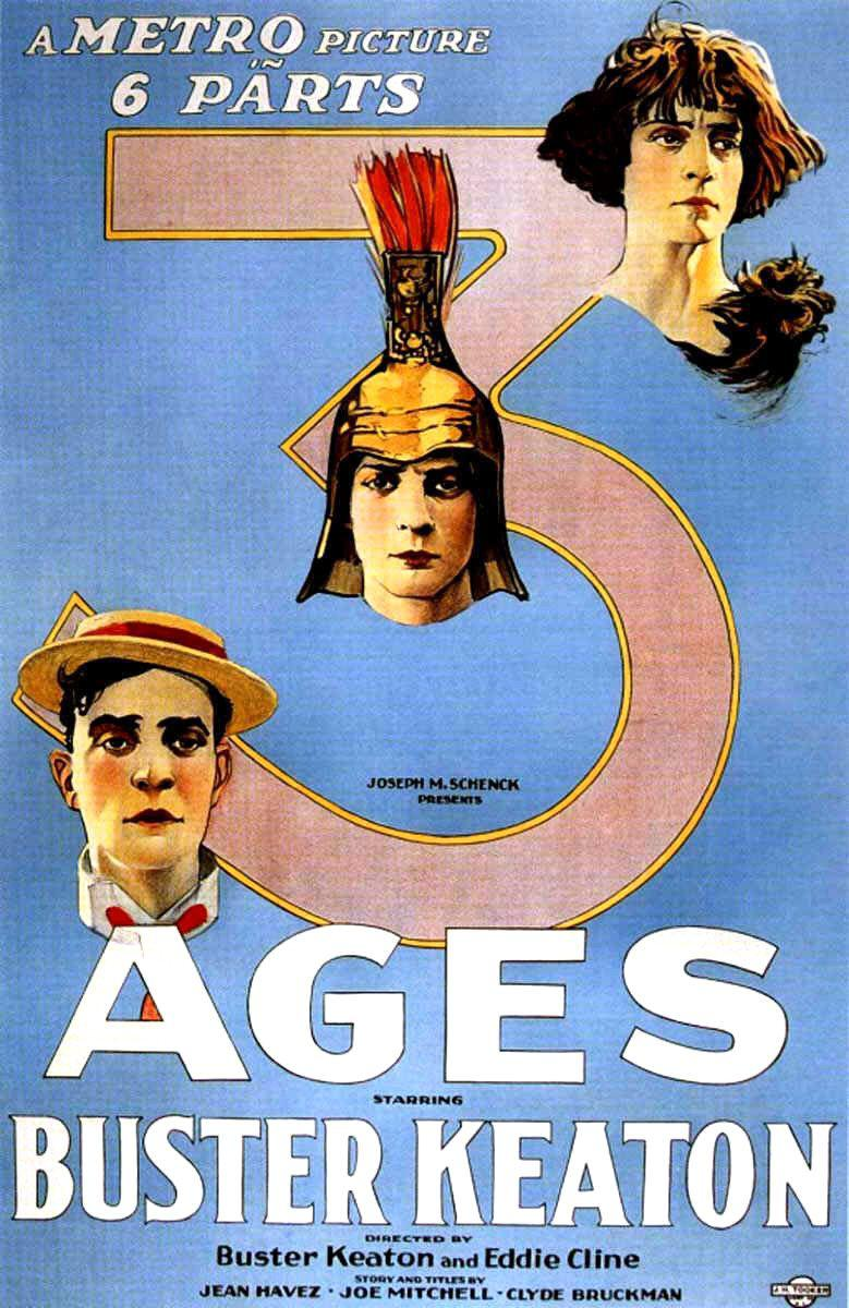 Three ages - Buster Keaton