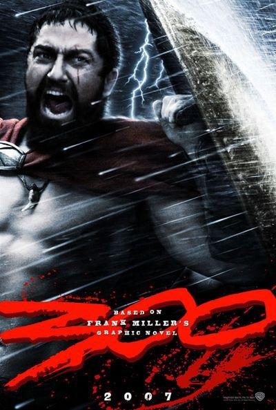 300 - Three hundred - film poster - Leonida king of Sparta