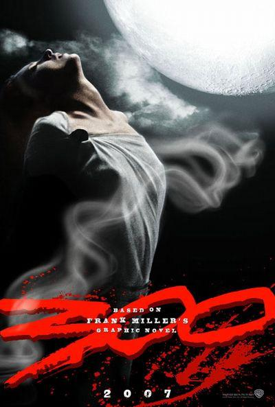 300 - Three hundred - film poster