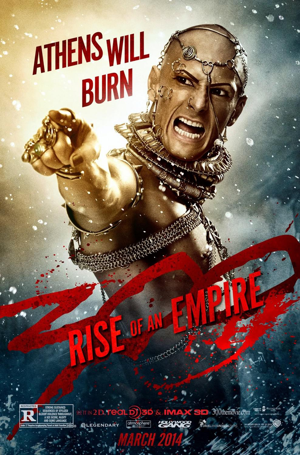 300 Alba di un Impero - Three hundred rise of an Empire - Athens will burn