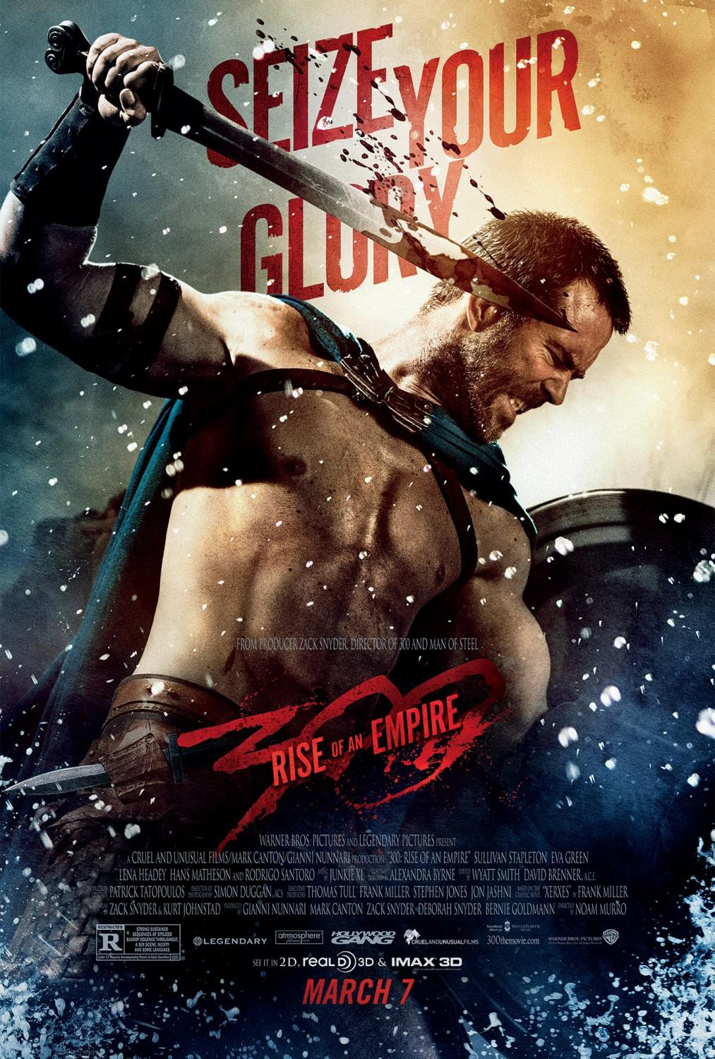 300 Alba di un Impero - Three hundred rise of an Empire - poster