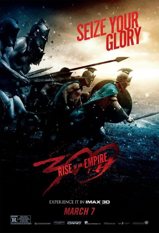 300 Alba di un Impero - Three hundred rise of an Empire - poster - seize your glory