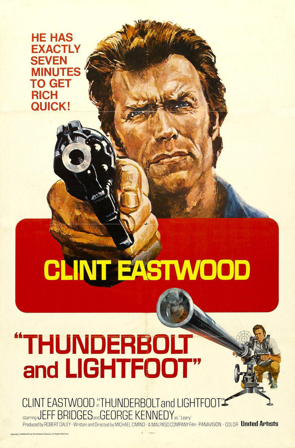 Una Calibro 20 per lo Specialista - Thunderbolt and Lightfoot - Clint Eastwood - poster