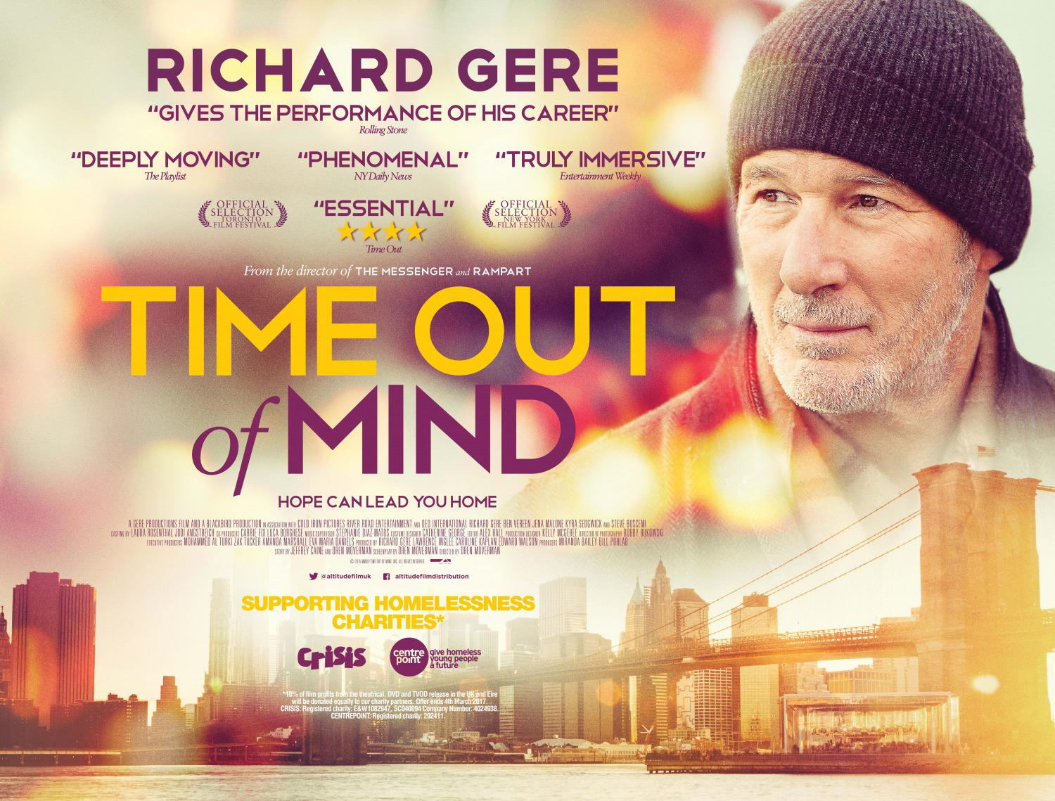 Time out of Mind - Gli Invisibili - Richard Gere - Hope can lead your Home