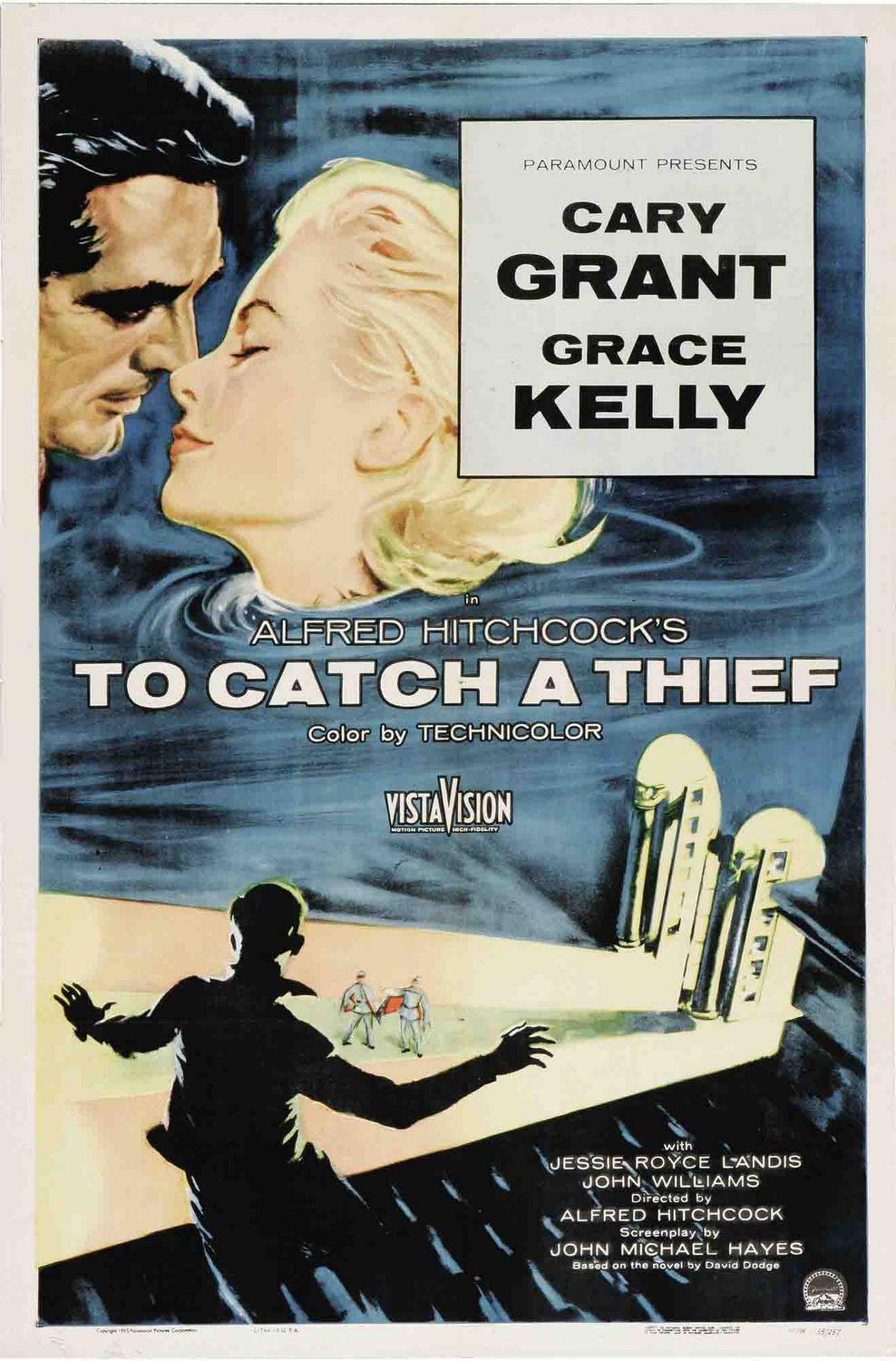 Caccia al Ladro - To Catch a Thief - Cary Grant - Grace Kelly - Alfred Hitchcock