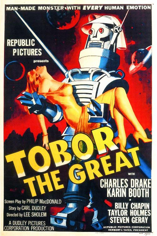 Film - Tobor the great - Robot Tobor