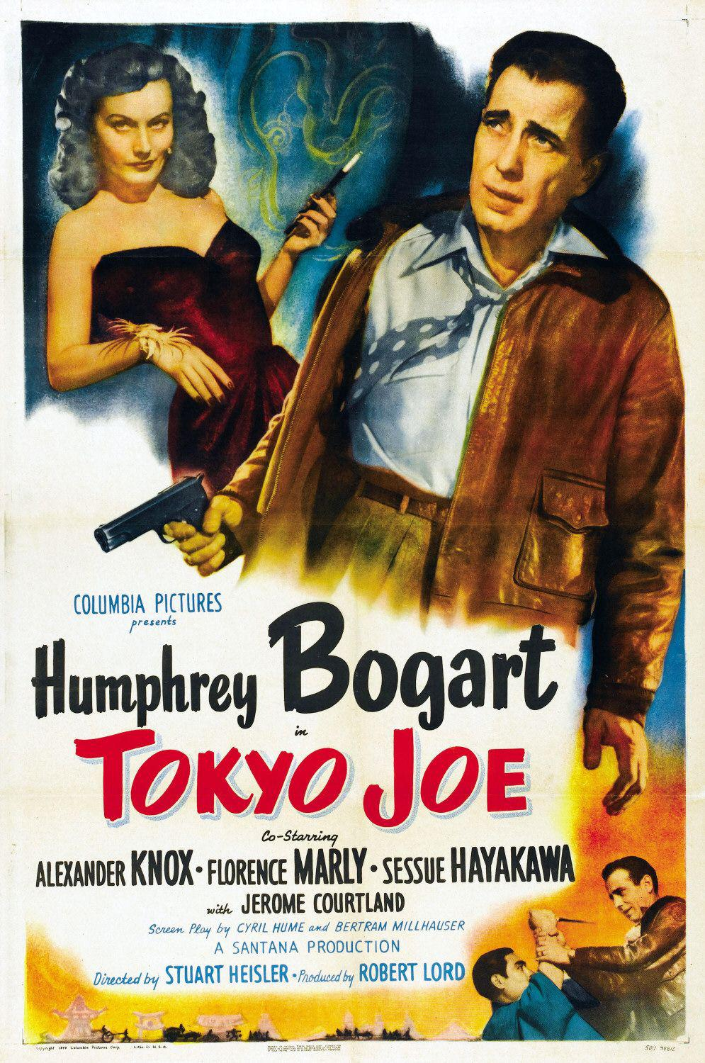 Tokyo Joe - most dangerous adventure of his Career - Humphrey Bogart - Alexander Knox - Florence Marly - Sessue Hayakama - Jerome Courtland