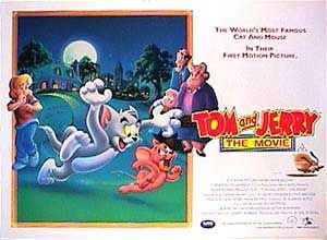 Tom and Jerry the movie - film poster