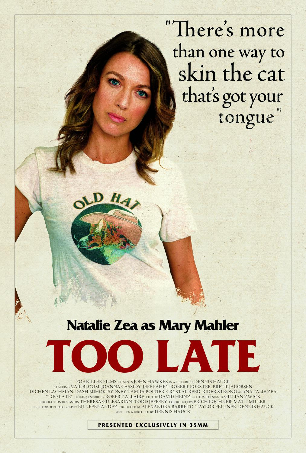 Troppo Tardi - Too Late - Natalie Zea as Mary Mahler