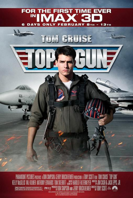 Top Gun - Tom Cruise - Kelly McGillis