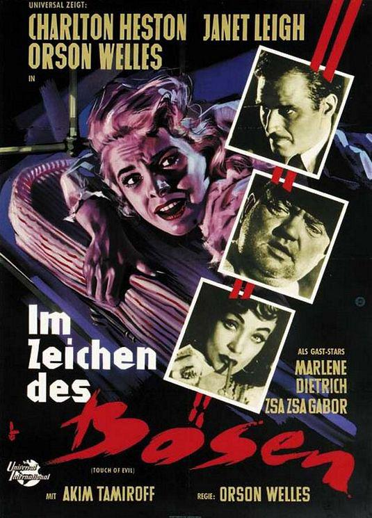 Touch of Evil - Im Zeichen des Bosen - Charlton Heston - Janet Leigh - Orson Welles