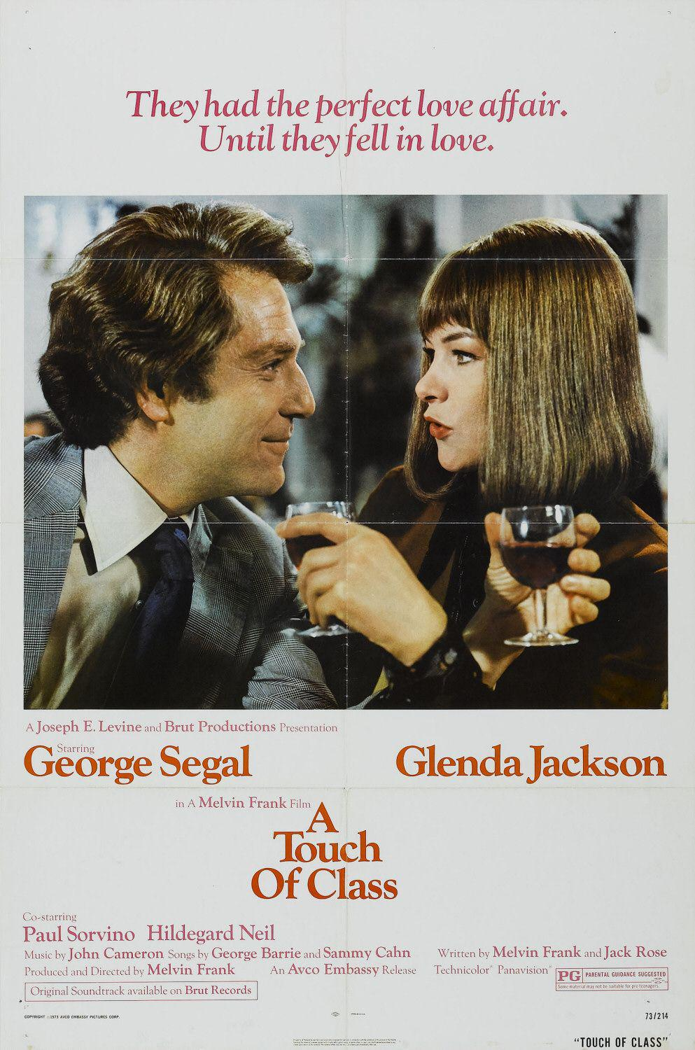 Touch of class - They had the perfect Love affair. Until they fell in Love.- George Segal - Glenda Jackson