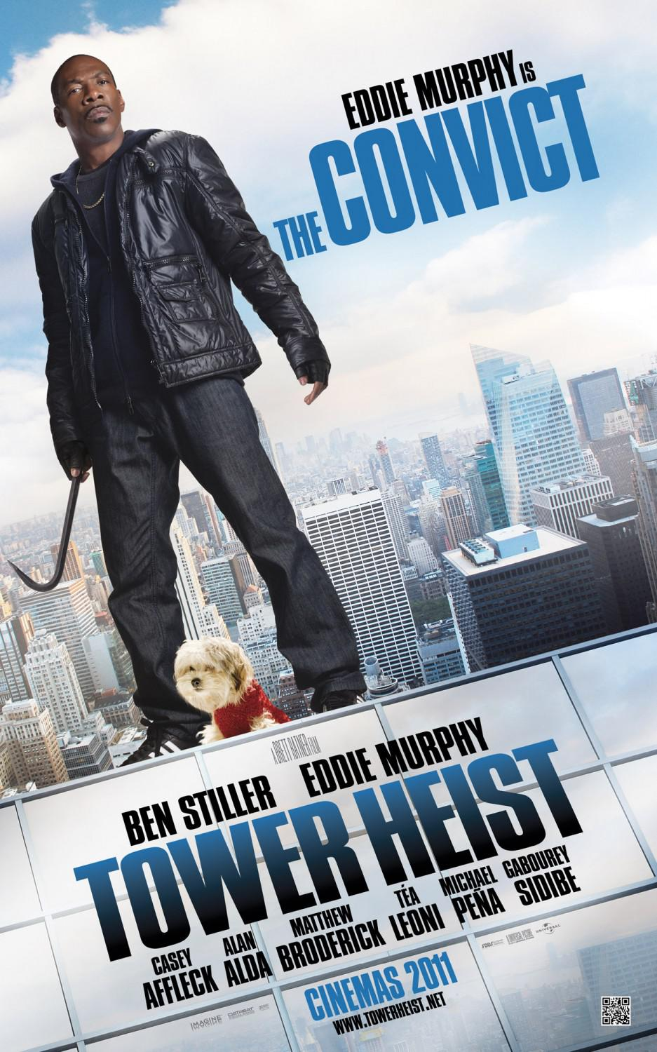Tower heist - Eddie Murphy -  the convict poster