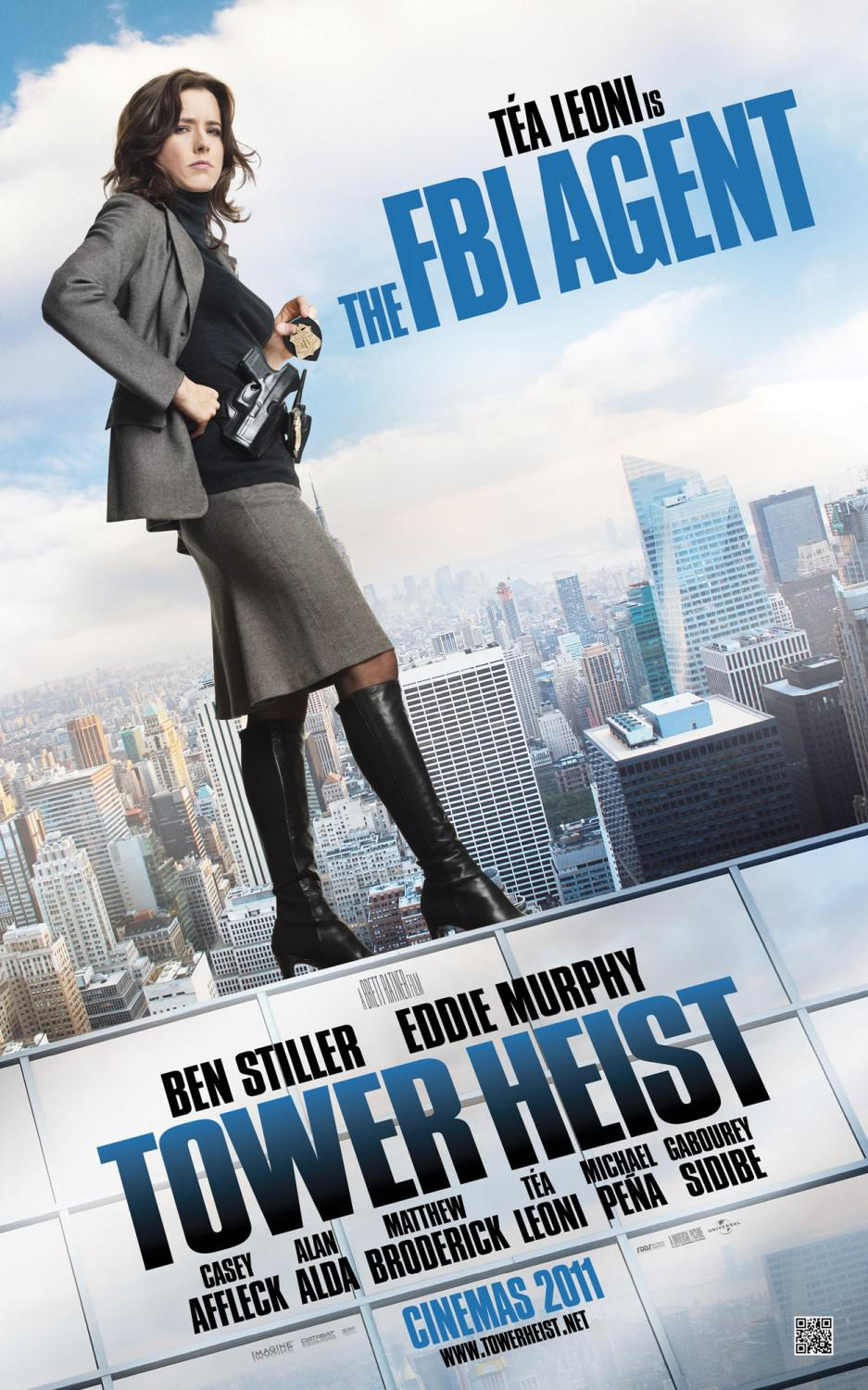 Tower heist - Téa Leoni - the FBI Agent