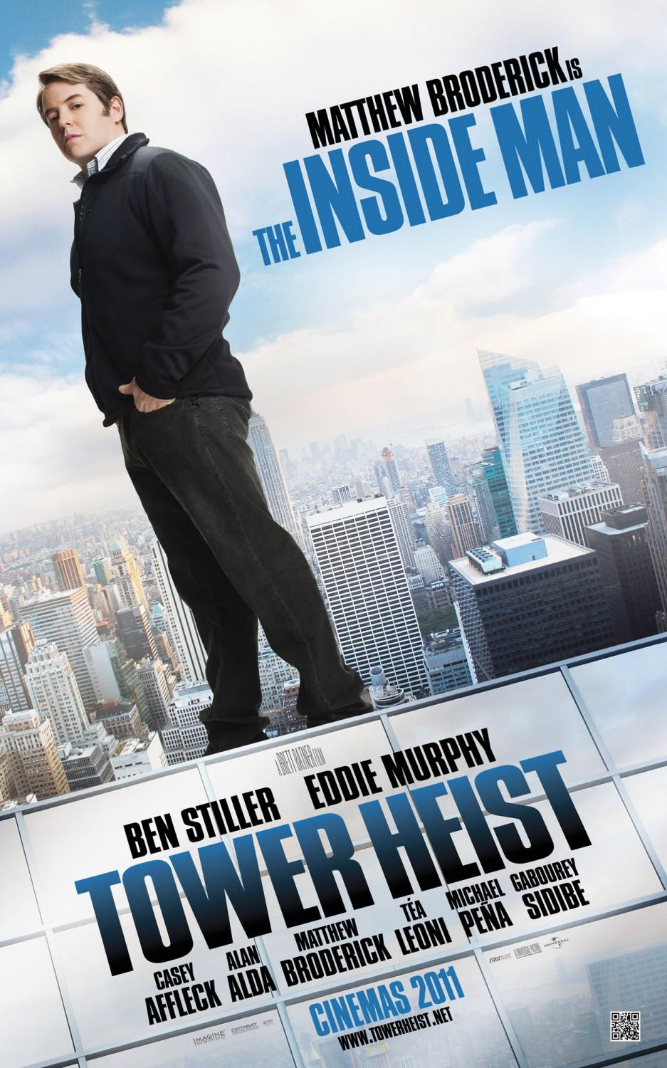 Tower heist - Téa Leoni - Matthew Broderick - Inside Man
