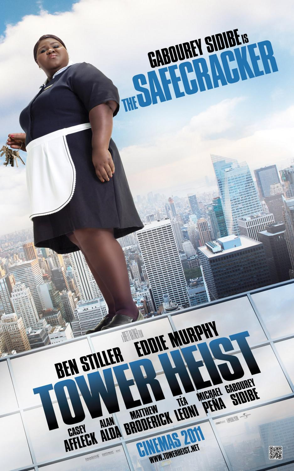 Tower heist - Téa Leoni - Gabourey SidiBe - the Safecracker