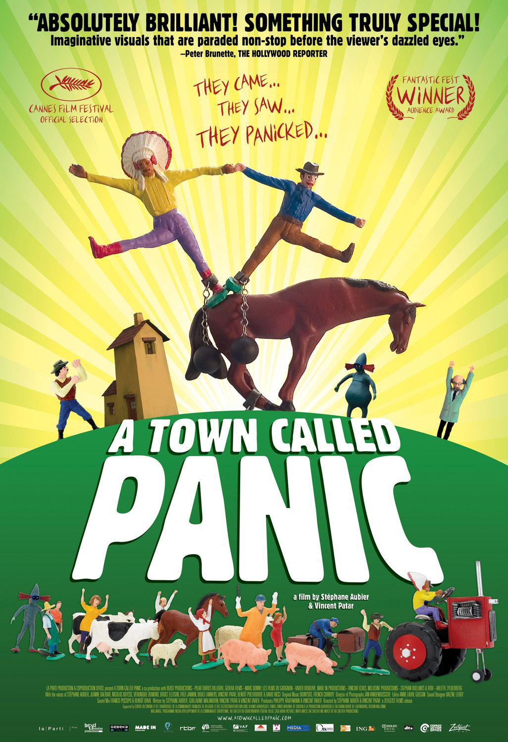Town called Panic - imaginative visuals that are paraded non-stop before the viewer's dazzled eyes
