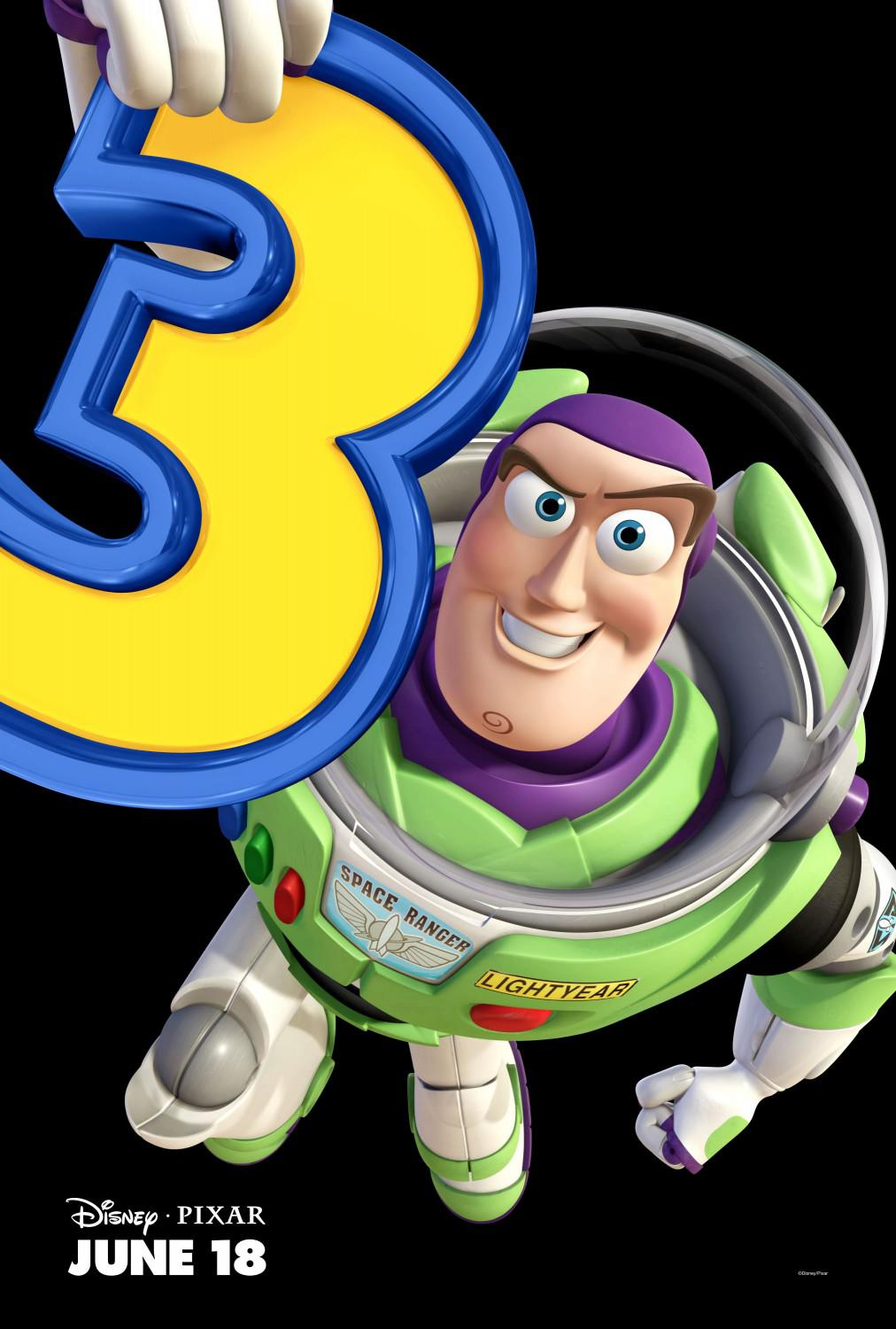Toy Story 3 - poster - Buzz Lightyear