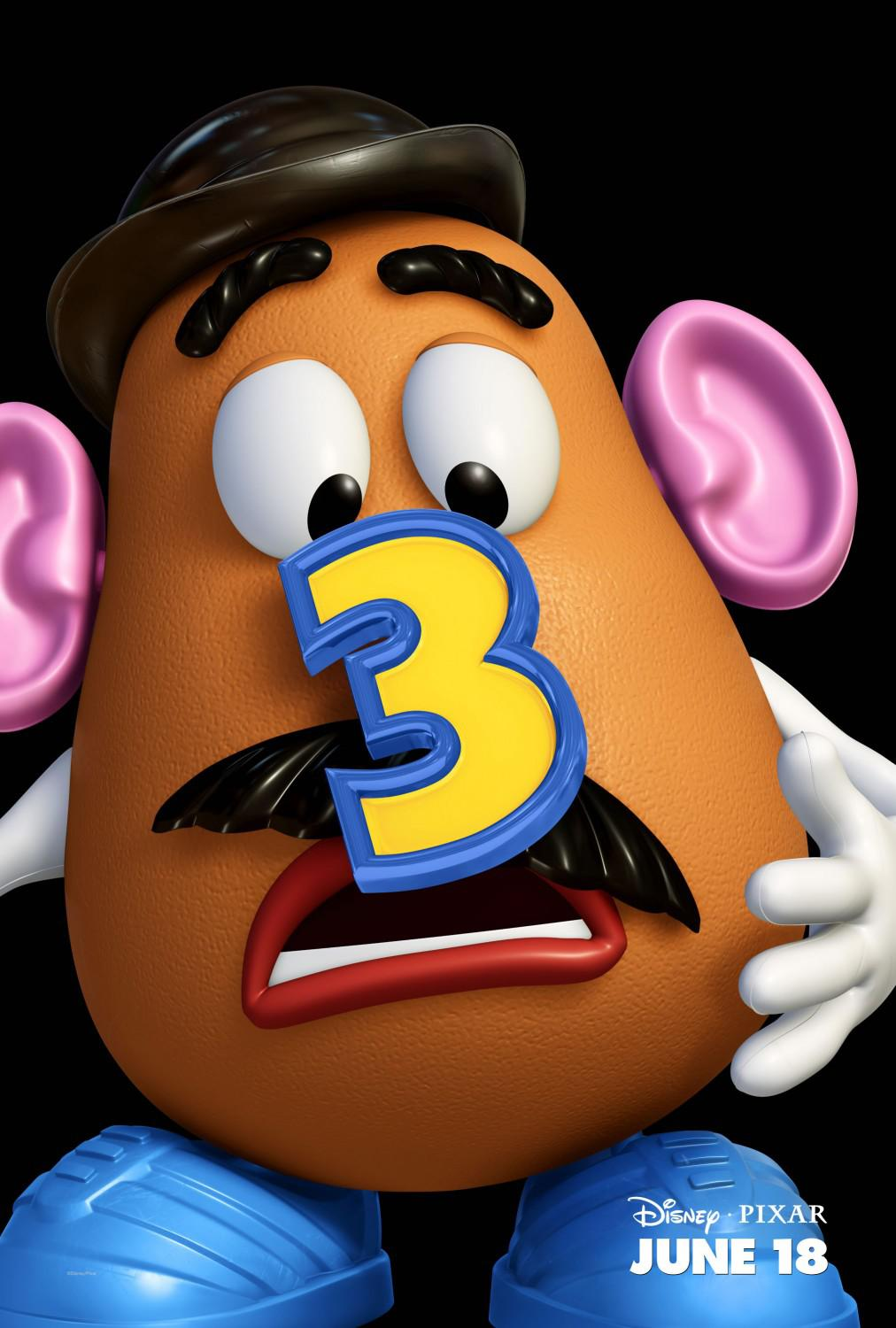Toy Story 3 - poster - Mr Potato