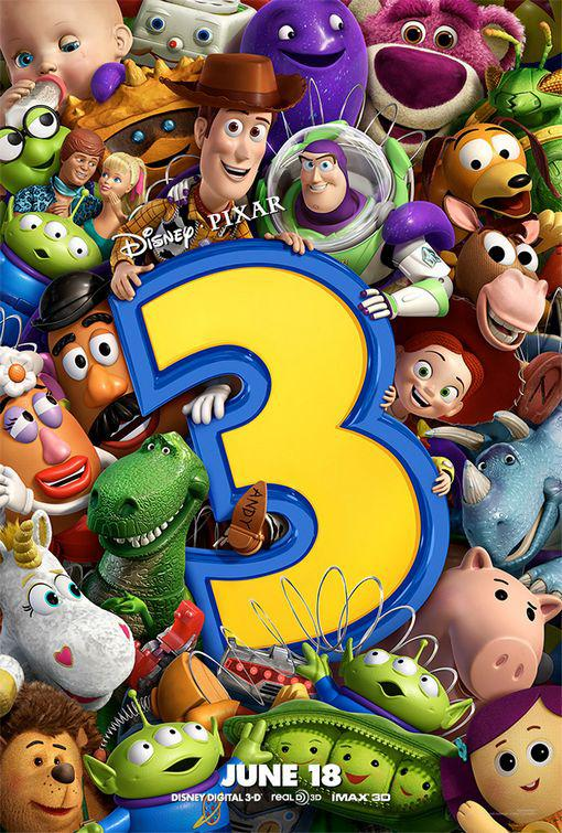 Toy Story 3 - poster -  cast - characters