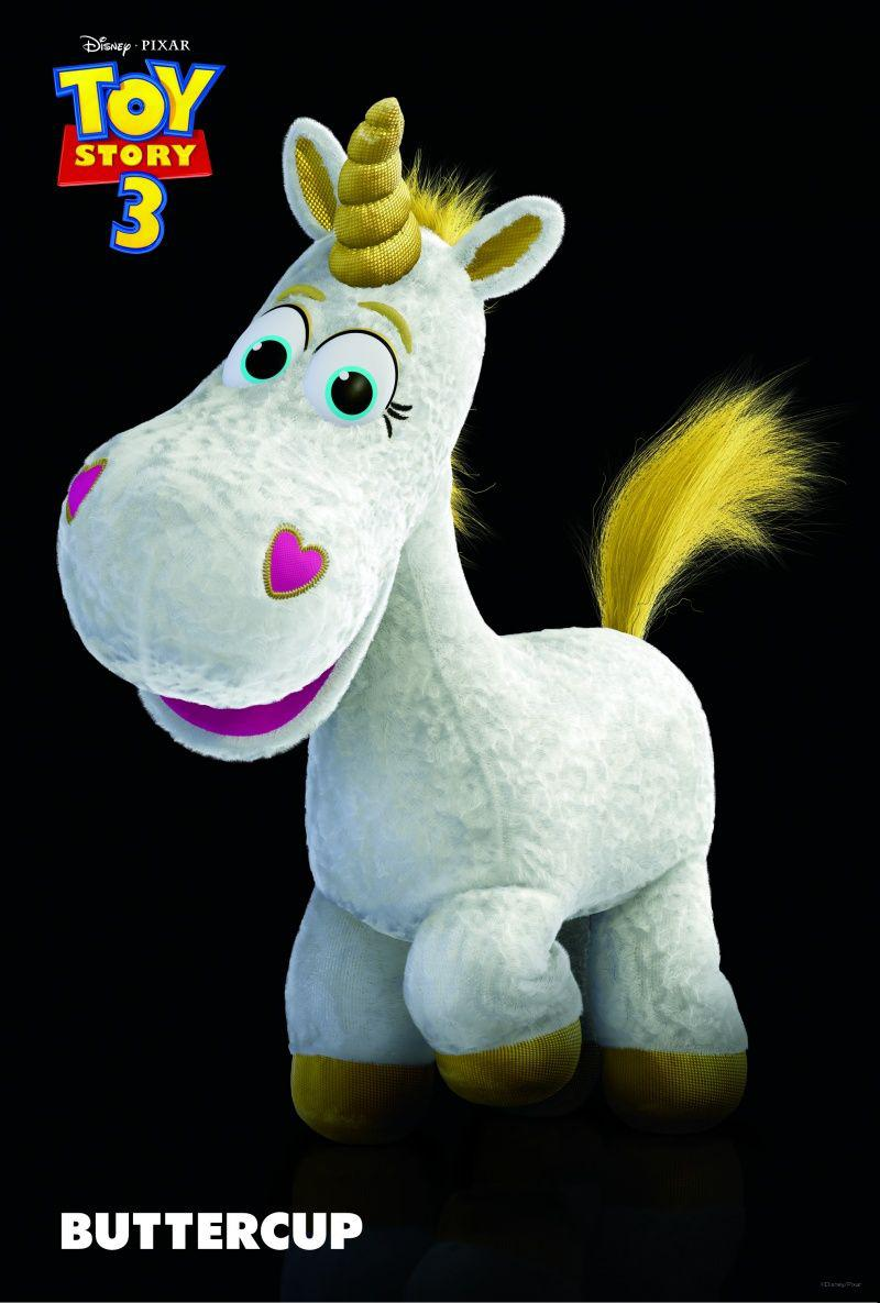 Toy Story 3 - poster - Unicorn Buttercup