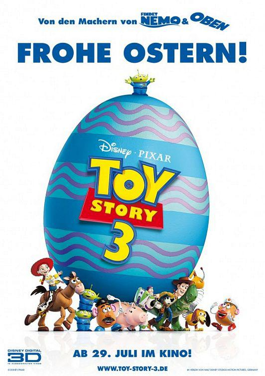 Toy Story 3 - poster -  Frohe Ostern