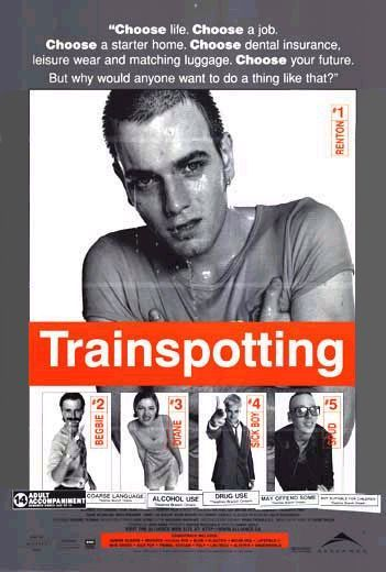 Trainspotting - poster