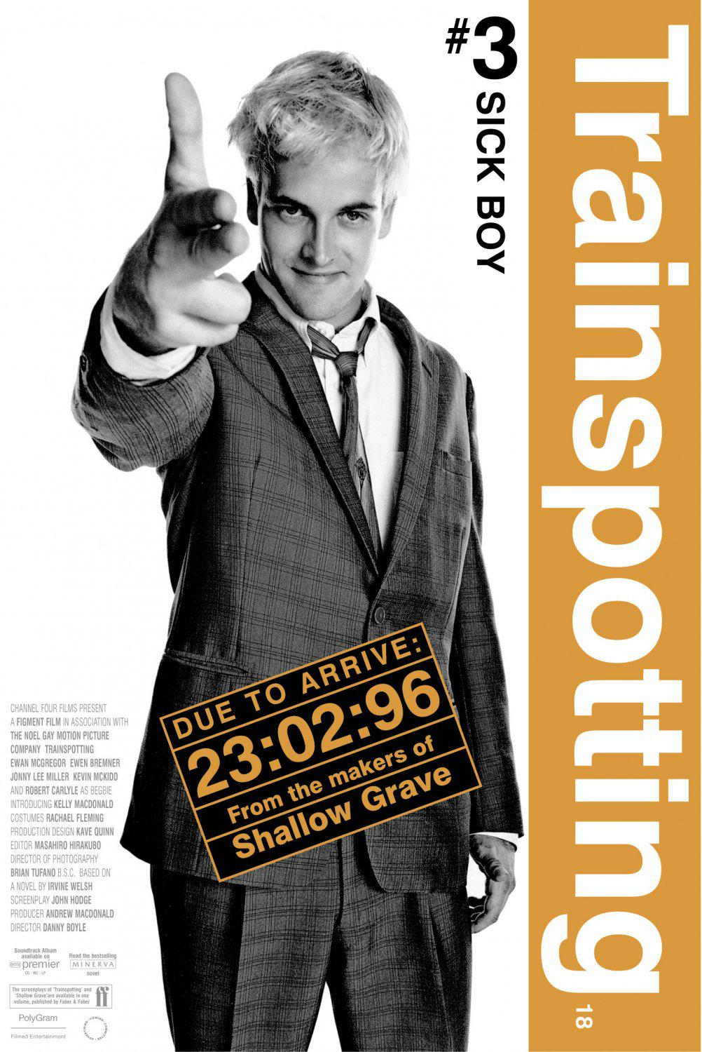 Trainspotting - poster - Sick Boy