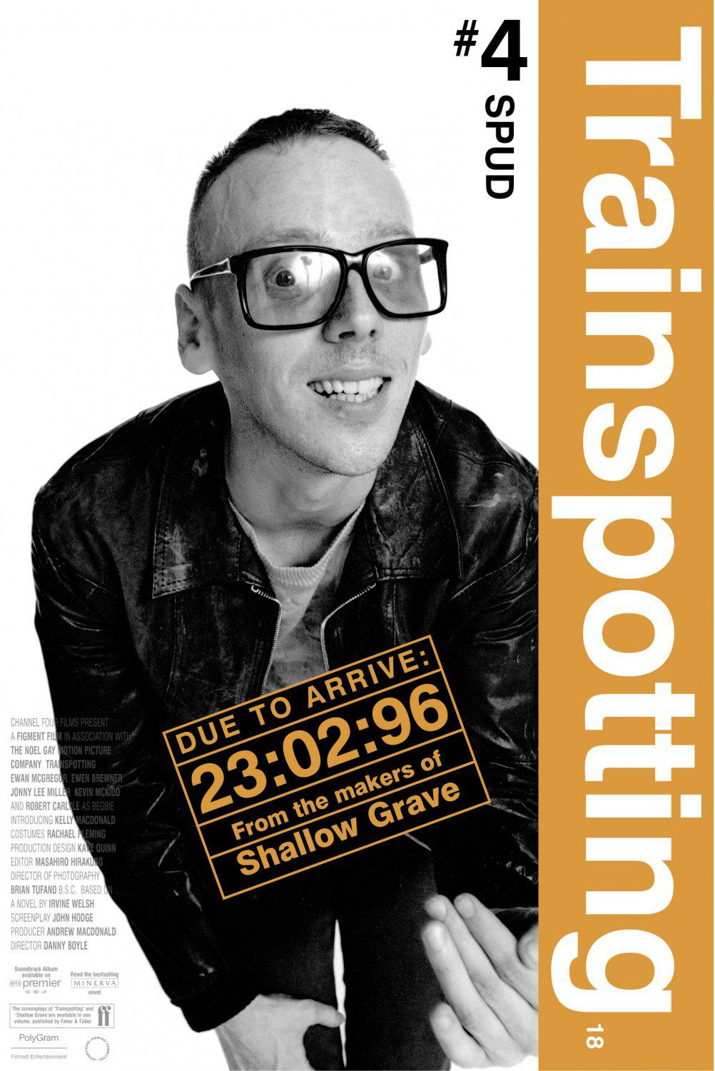 Trainspotting - poster - Spud