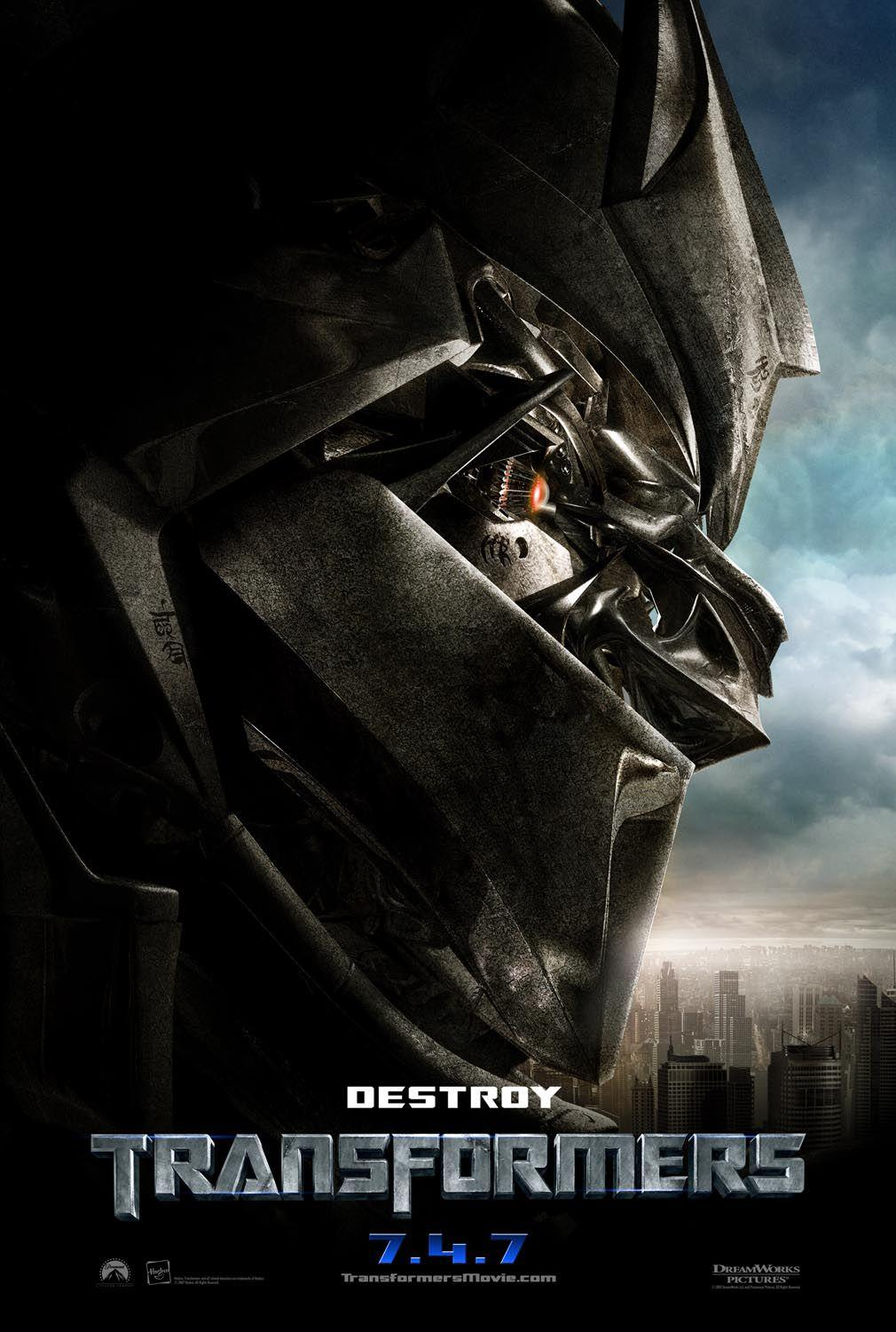 Transformers 1 - poster