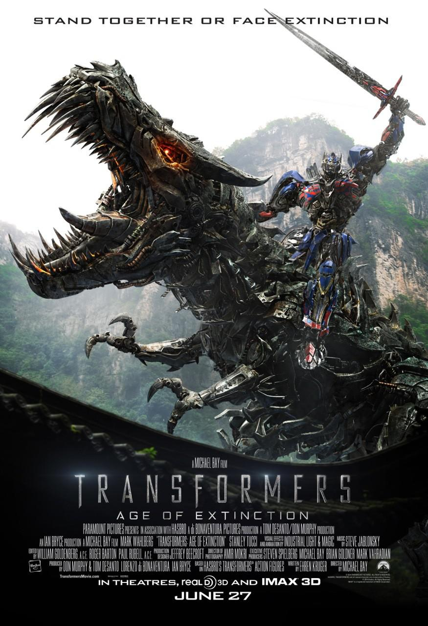 Transformers 4 - Age of Extinction - poster
