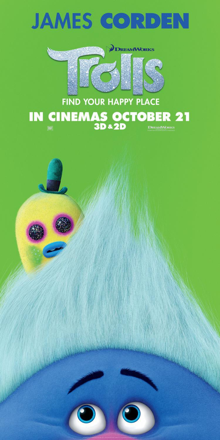 Trolls - animated film - poster