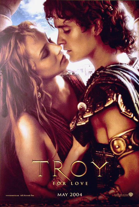 Film - Troy - Diane Kruger - Orlando Bloom  - Elena e Paride - Helen and Paris