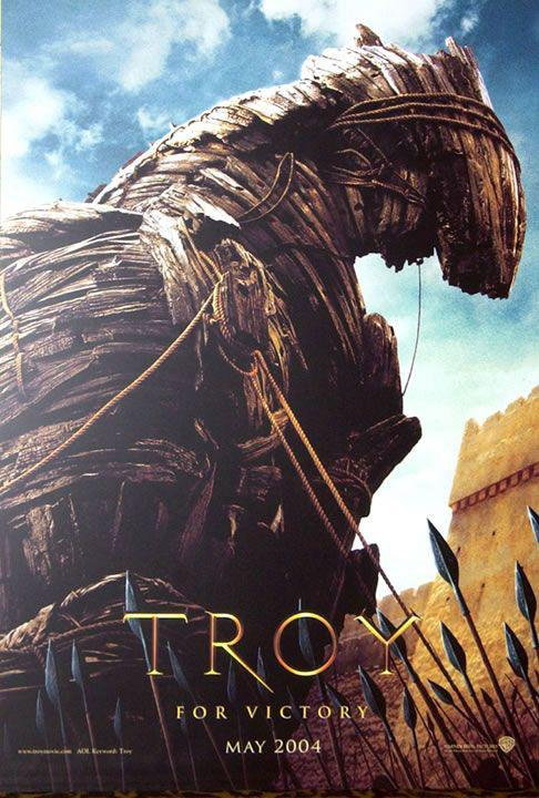 Film - Troy - battle war Troia - horse - cavallo