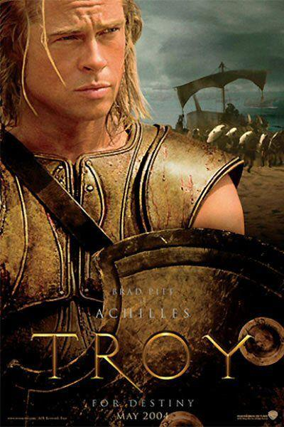 Film - Troy - Brad Pitt as Achilles - Achille