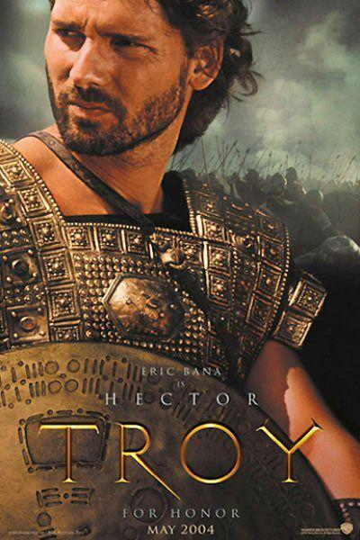 Film - Troy - Eric Bana ad Hector - Ettore