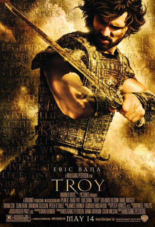 Film - Troy - Eric Bana ad Hector - Ettore - poster