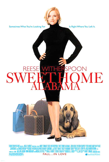 "Tutta colpa dell'amore (Sweet Home Alabama) - Melanie ""Carmichael"" Smooter (Reese Witherspoon) - Jake Perry (Josh Lucas) - Andrew Hennings (Patrick Dempsey)"