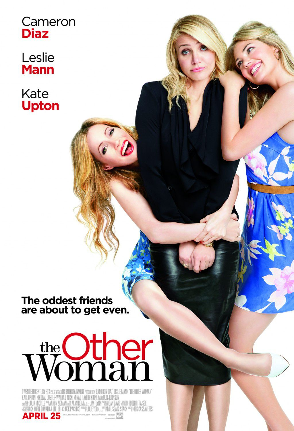 Tutte contro lui - The Other Woman- poster