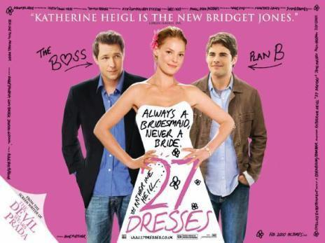27 volte in bianco - 27 Dresses - twentyseven Dresses - film poster