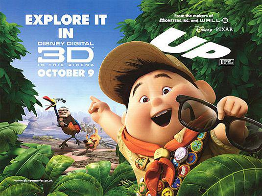 UP - Disney Pixar animated film poster - Russell