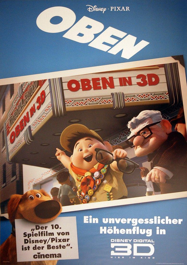 UP - Disney Pixar animated film poster