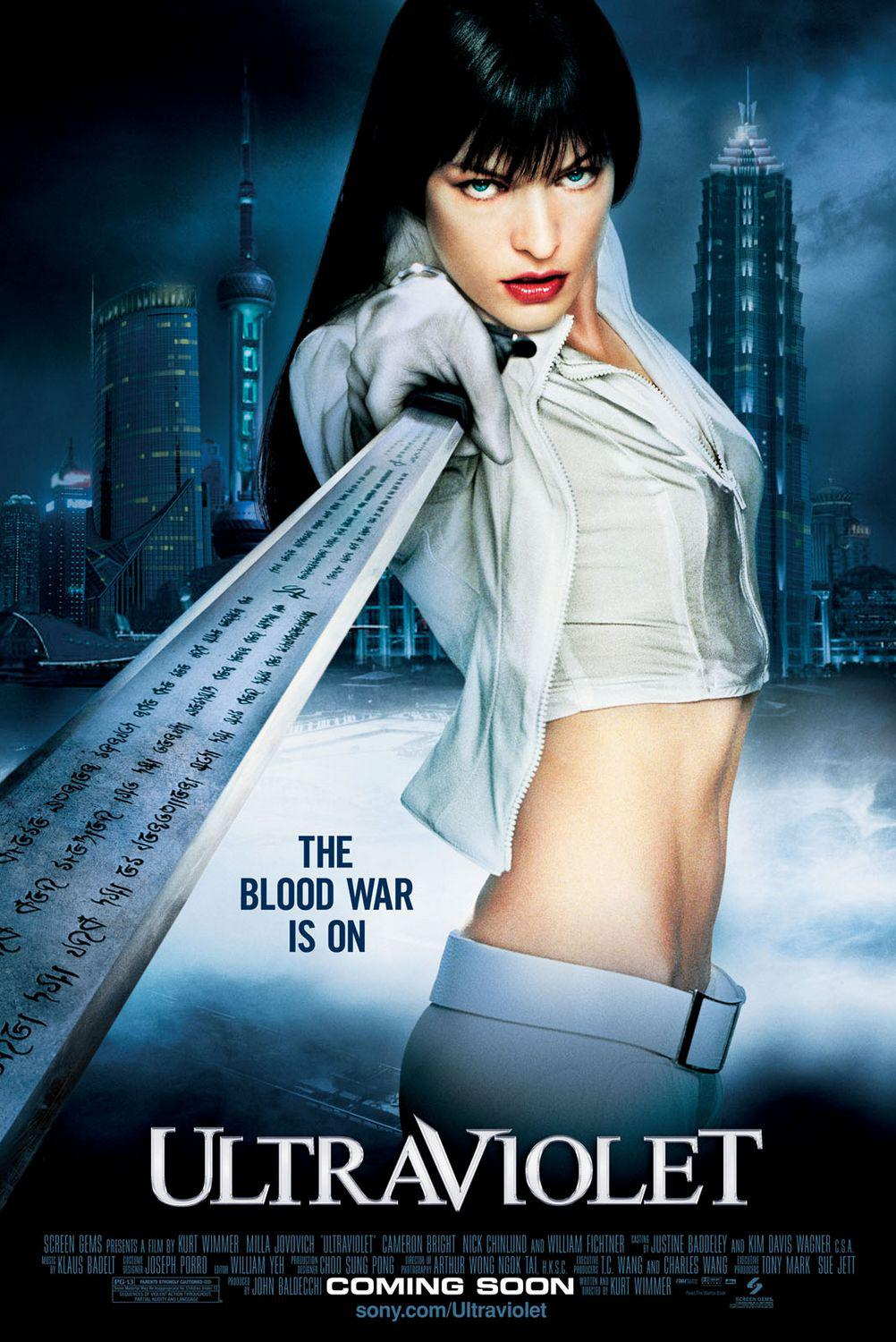 Ultraviolet - action film - Milla Jovovich