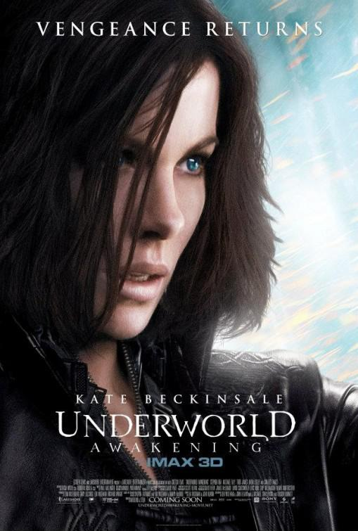 Underworld 4 - Awakening - Kate Beckinsale  - poster