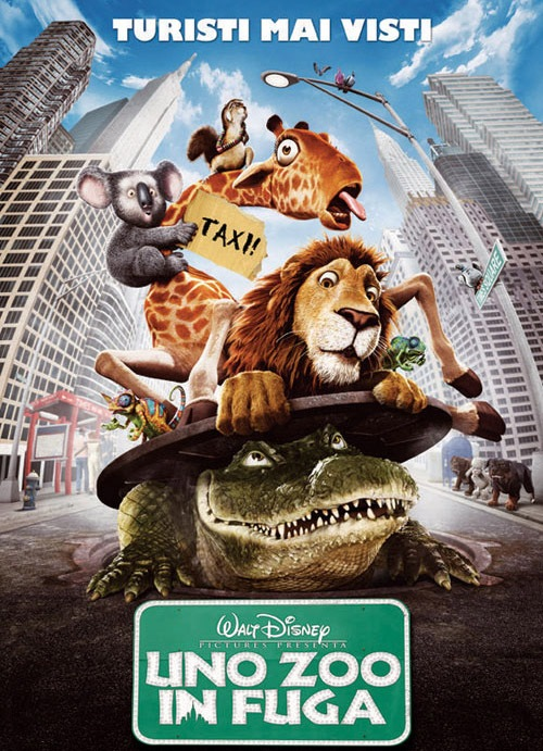 Uno Zoo in Fuga - movie poter