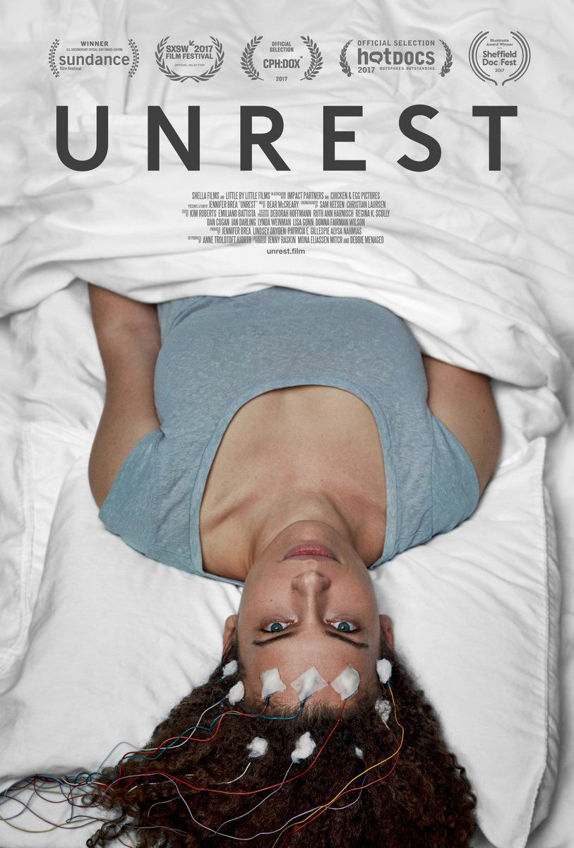 Unrest film by Jennifer Brea - encefalomielite mialgica CFS MCS