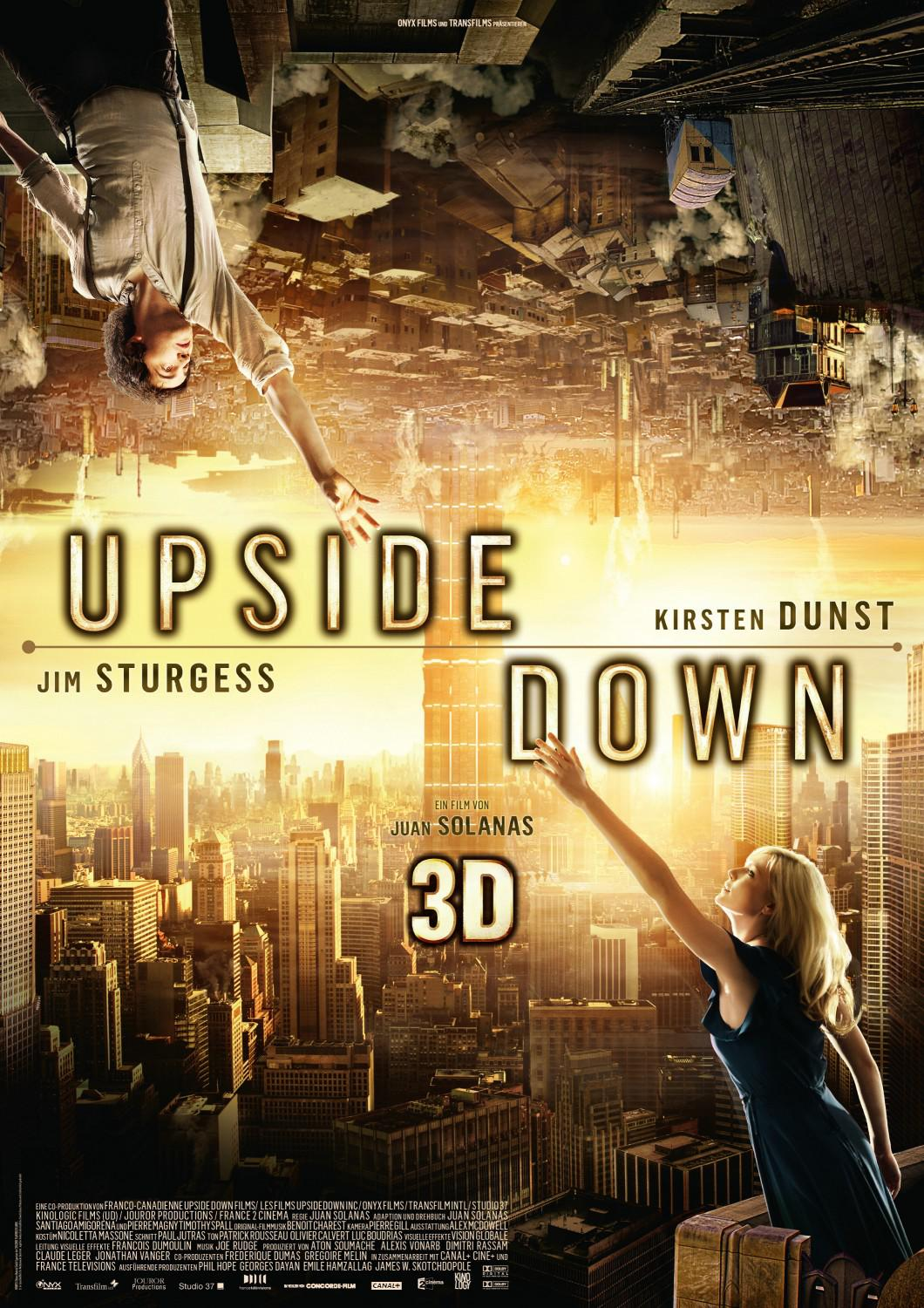 Upside Down - Kirsten Dunst - Jim Sturgess - two worlds one future - poster