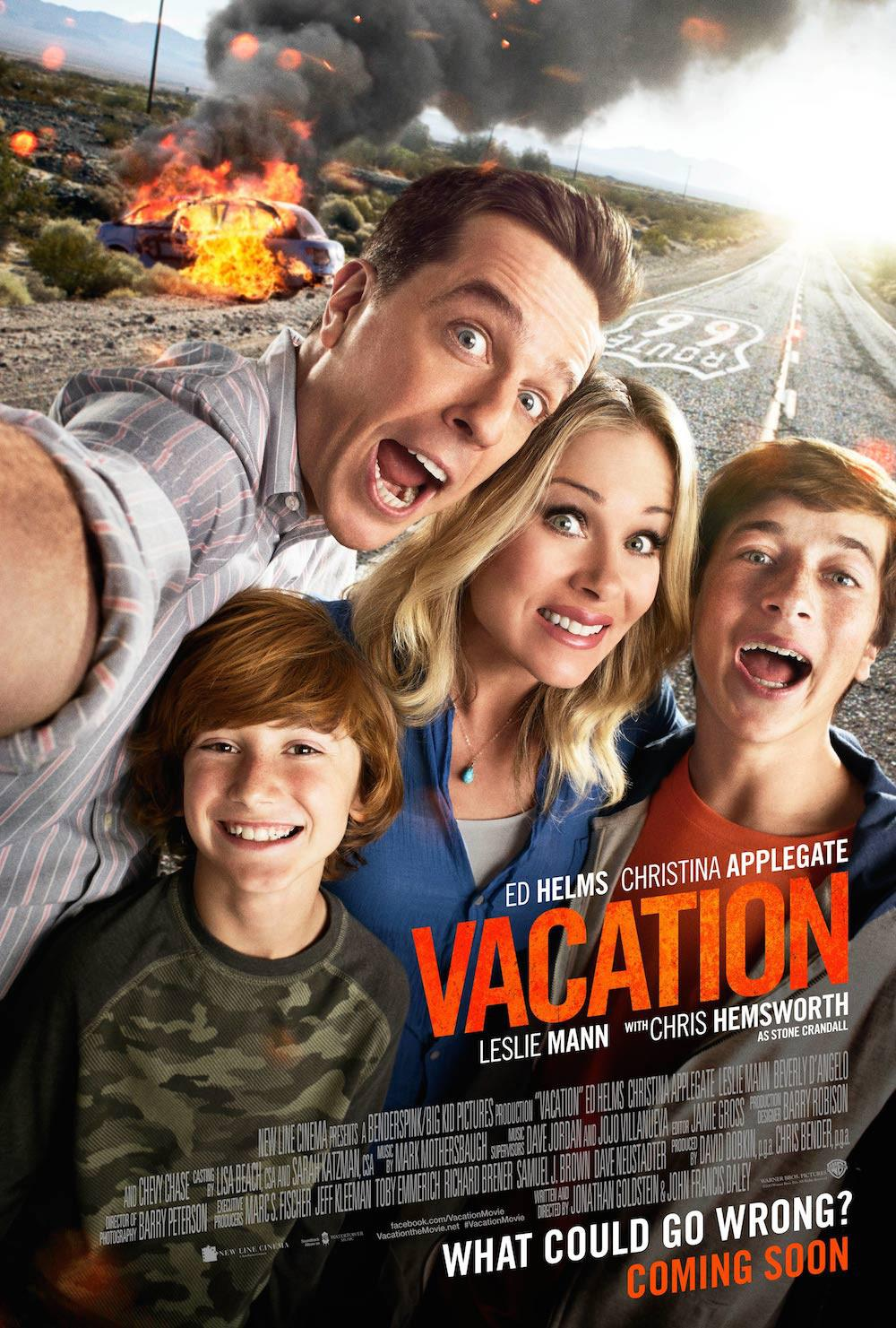 Come ti Rovino le Vacanze - Vacation - Vacaciones - Vive les vacances - Rusty Griswold (Ed Helms) - Debbie Griswold (Christina Applegate) - James Griswold (Skyler Gisondo) - Kevin Griswold (Steele Stebbins)